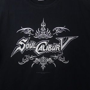 🍉 Soul Calibur V Logo T-Shirt Size XL Video Game